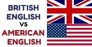 تفاوت انگلیسی آمریکایی و بریتانیایی