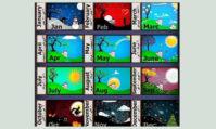 معادلسازی ماه های میلادی به فارسی
