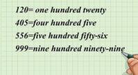 اعداد سه رقمی انگلیسی