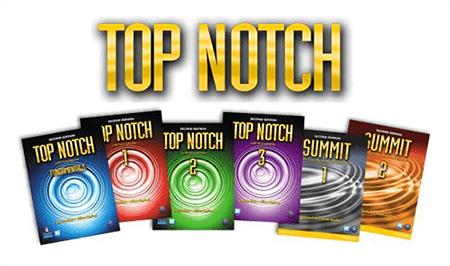 کتاب های top notch