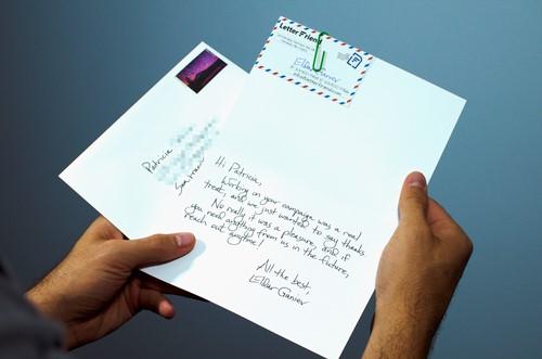 نوشتن نامه تجاری معرفی نحصول به زبان انگلیسی